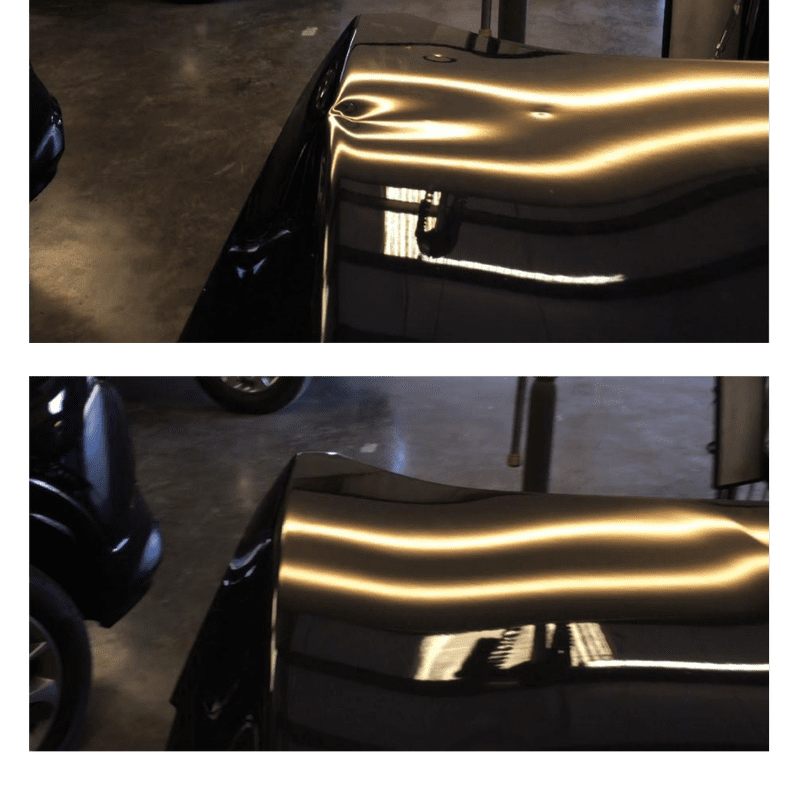 auto repair carlsbad dent before and after