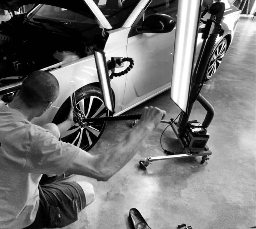 fixing bumper dent repair san diego