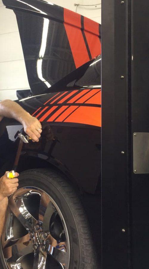 working on San Diego classic car restoration